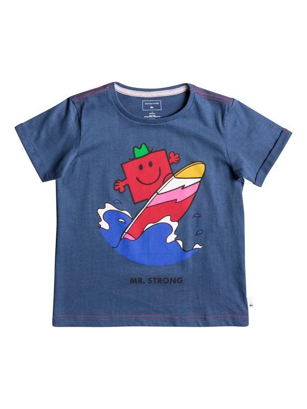0 Mr Strong Classic - Tee-Shirt ultra-doux  EQKZT03119 Quiksilver