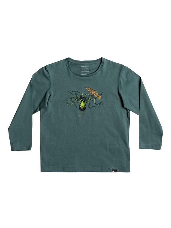 0 Classic Los Poulpos - T-Shirt à manches longues  EQKZT03127 Quiksilver