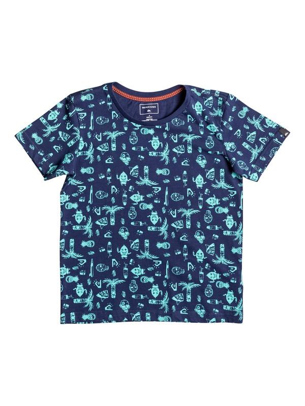 0 Allover Citrus Man - Tee-Shirt  EQKZT03131 Quiksilver