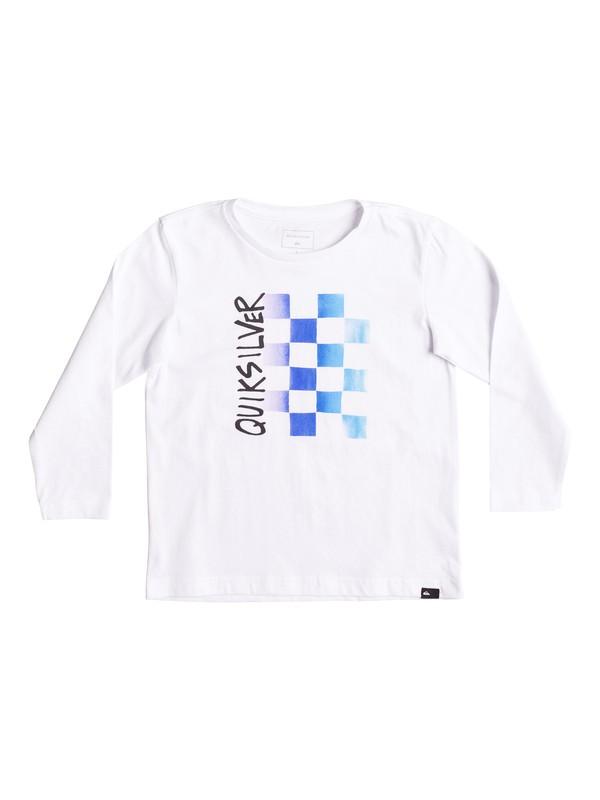 0 Classic Double Check - T-Shirt à manches longues  EQKZT03156 Quiksilver