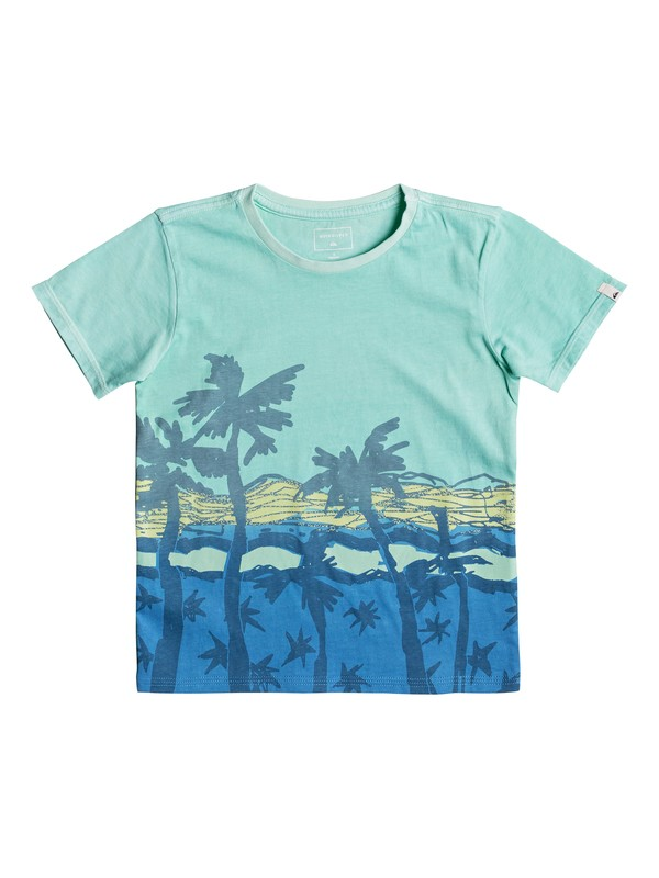 0 Oihana - T Shirt col rond Bleu EQKZT03209 Quiksilver