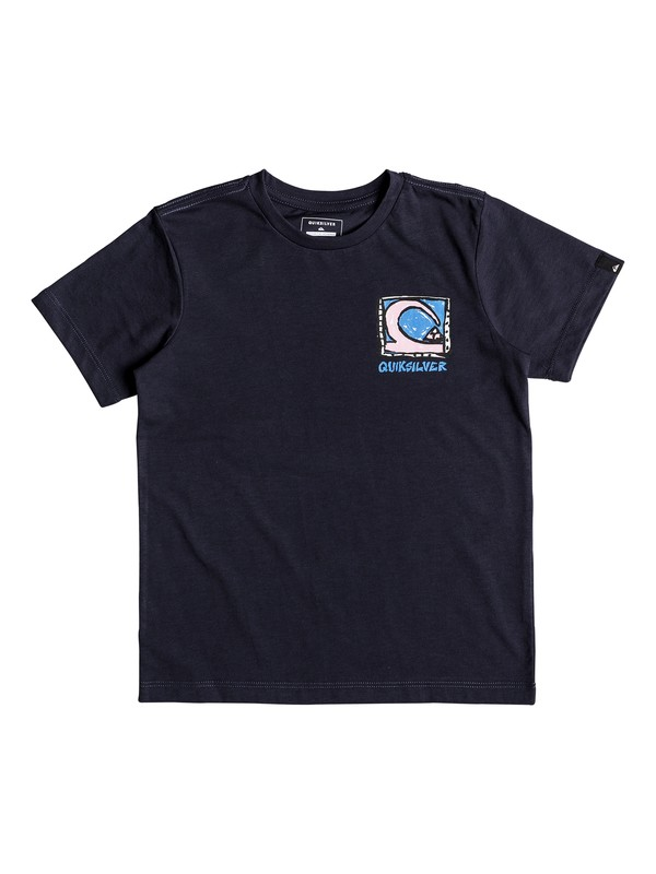 0 Anti UV Dens Way - T Shirt col rond Bleu EQKZT03210 Quiksilver
