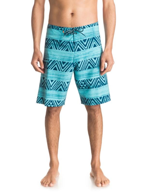 "0 Waterman Tribal Stripe 20"" Boardshorts  EQMBS03005 Quiksilver"