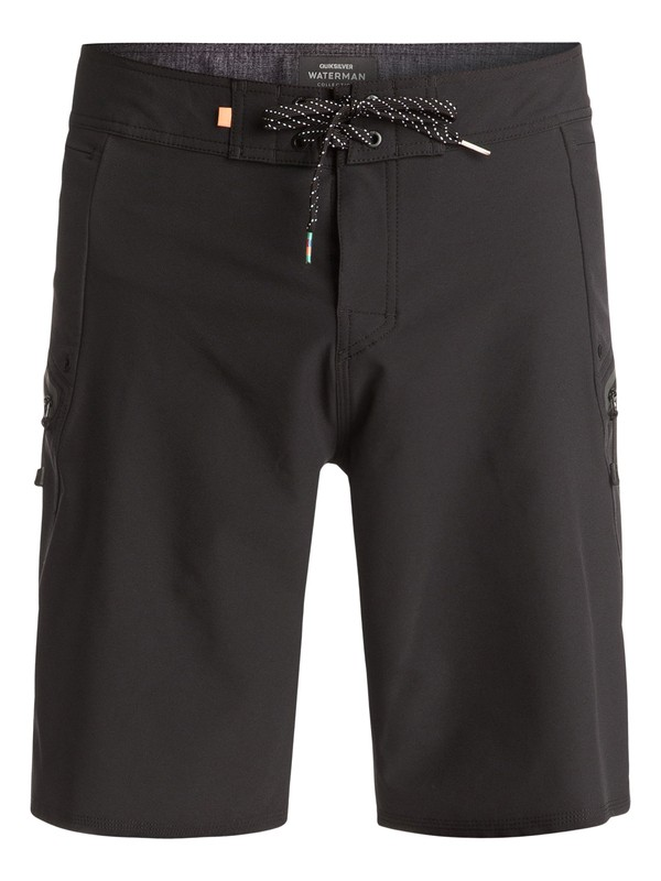 "0 Waterman Paddler 20"" Boardshorts Black EQMBS03006 Quiksilver"
