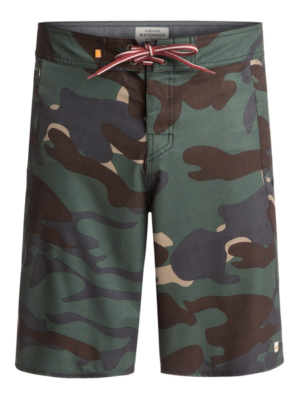 "0 Waterman Paddler 20"" Boardshorts Green EQMBS03006 Quiksilver"