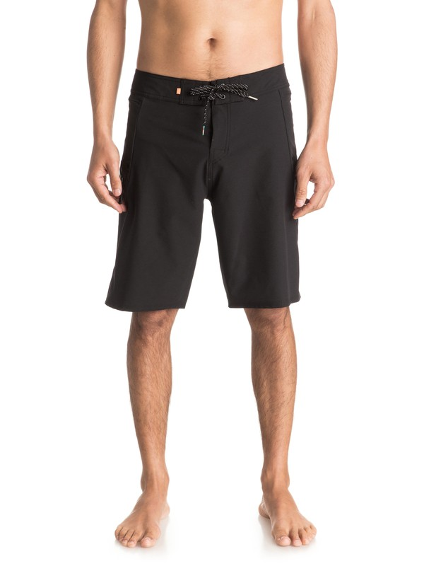 "0 Waterman Paddler 20"" - Boardshort Noir EQMBS03006 Quiksilver"