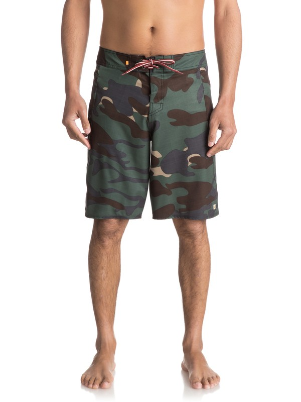 "0 Waterman Paddler 20"" - Boardshort Green EQMBS03006 Quiksilver"