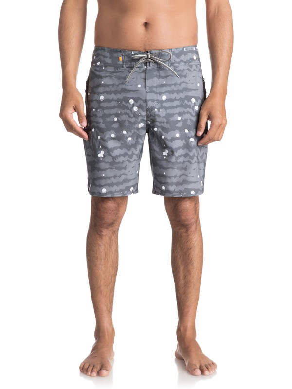 "0 Waterman Deep Sea 19"" - Board Shorts Black EQMBS03017 Quiksilver"