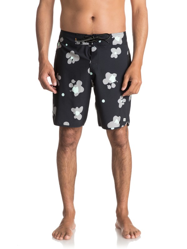 "0 Waterman Pelai 19"" Boardshorts Black EQMBS03021 Quiksilver"