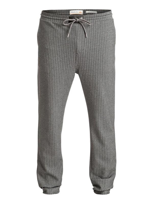 0 Lambert Sweeps - Pantalon de jogging en sergé Noir EQMFB03000 Quiksilver