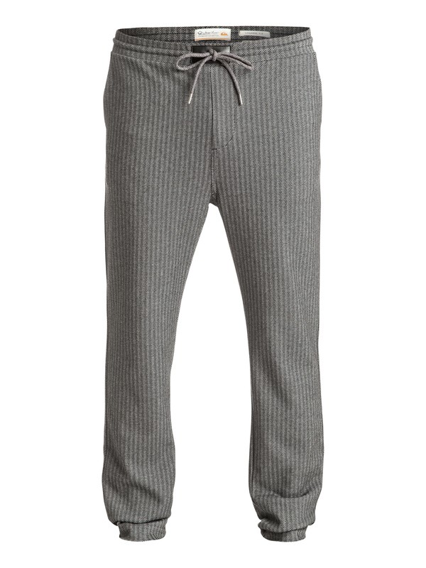 0 Waterman Lambert Sweeps - Pantalon de jogging en sergé Noir EQMFB03000 Quiksilver