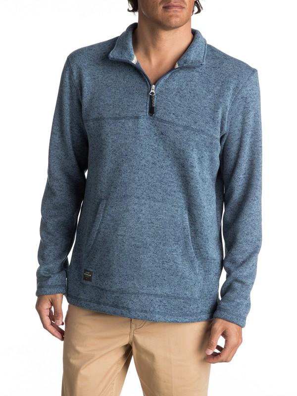 0 Waterman Mormont - Sweatshirt à zip 3/4  EQMFT03003 Quiksilver