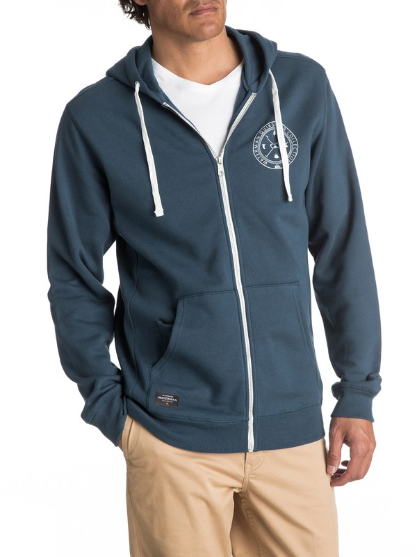 0 Waterman Ring The Bell - Sweat à capuche zippé  EQMFT03008 Quiksilver