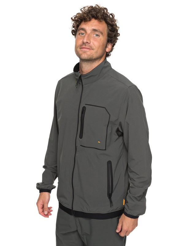0 Waterman Quiksilver - Veste de paddle technique Noir EQMJK03010 Quiksilver