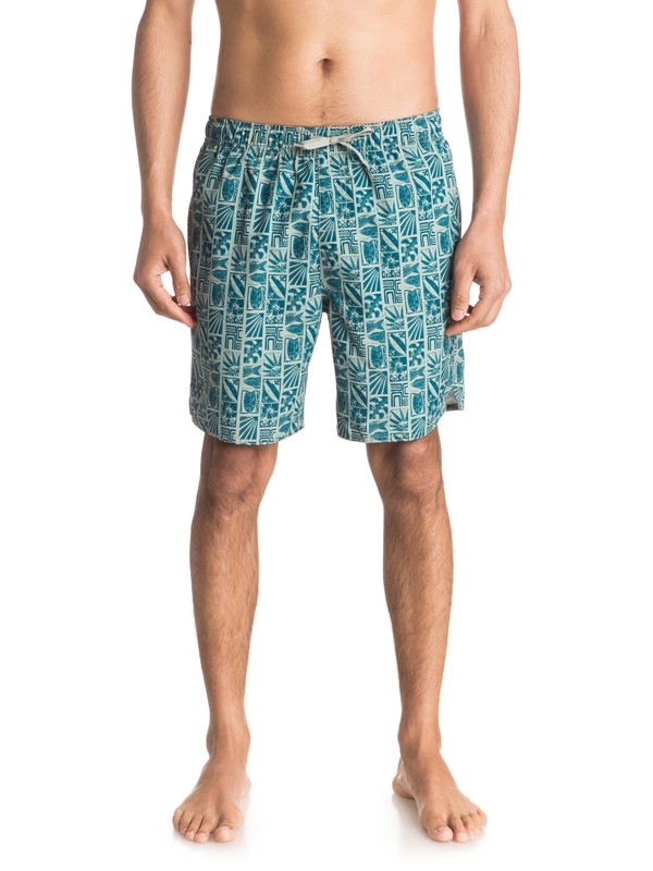 "0 Waterman Longwalks 19"" Volley Boardshorts  EQMJV03001 Quiksilver"