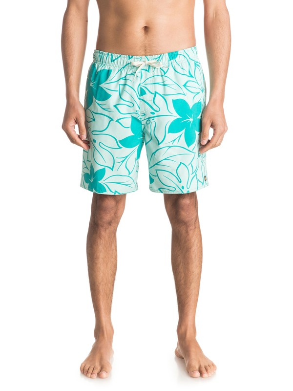 "0 Waterman Nassau Chroma 18"" Volley Boardshorts  EQMJV03003 Quiksilver"