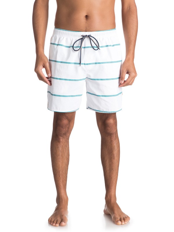 0 Waterman Overboard Volley Boardshorts White EQMJV03028 Quiksilver
