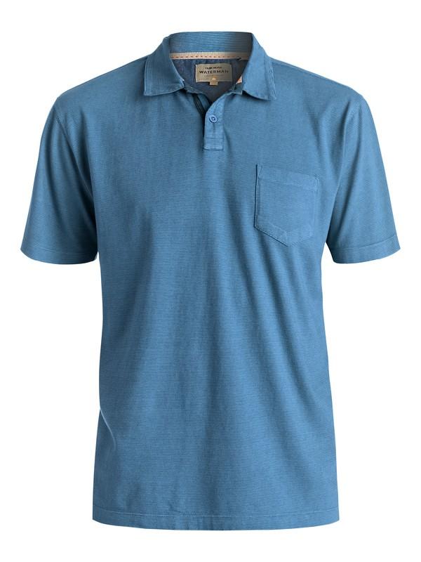 0 Waterman Strolo 6 - Camiseta Tipo Polo Azul EQMKT03005 Quiksilver