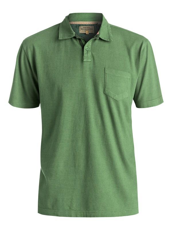 0 Waterman Strolo 6 - Camiseta Tipo Polo Verde EQMKT03005 Quiksilver