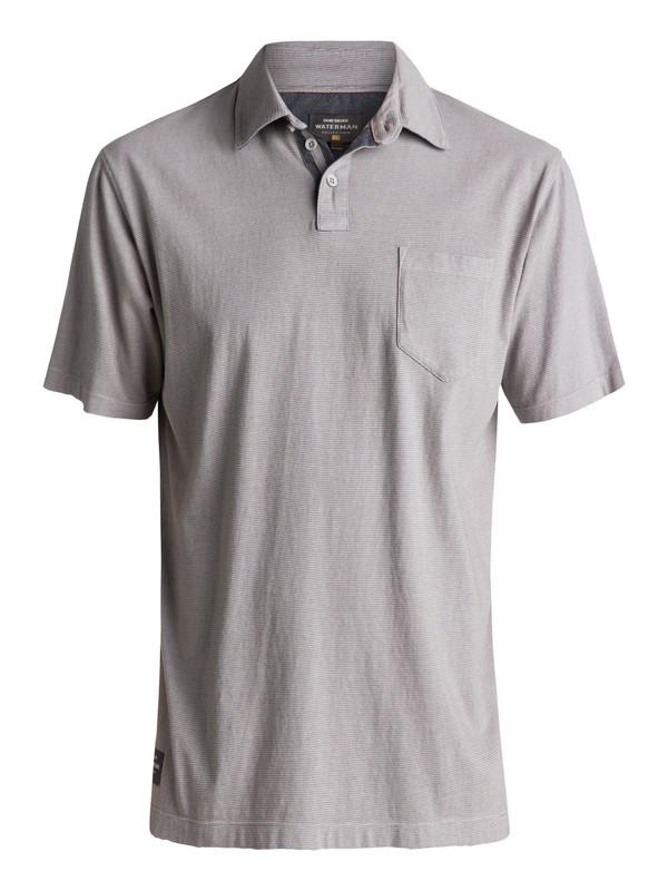 0 Waterman Strolo Polo Shirt Grey EQMKT03015 Quiksilver
