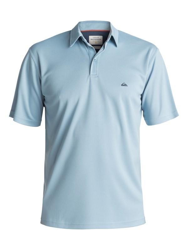 0 Waterman Water Polo Shirt Blue EQMKT03016 Quiksilver