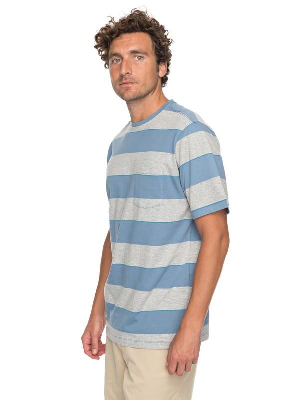 0 Waterman Tall Mountain - T shirt avec poche Bleu EQMKT03030 Quiksilver