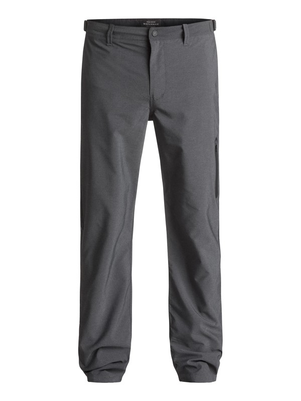0 Waterman Stand Up Water-Repellent Chinos Black EQMNP03000 Quiksilver