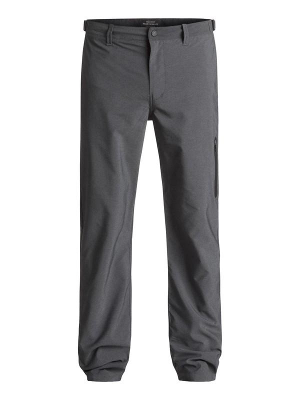 0 Waterman Stand Up - Pantalon chino déperlant Noir EQMNP03000 Quiksilver