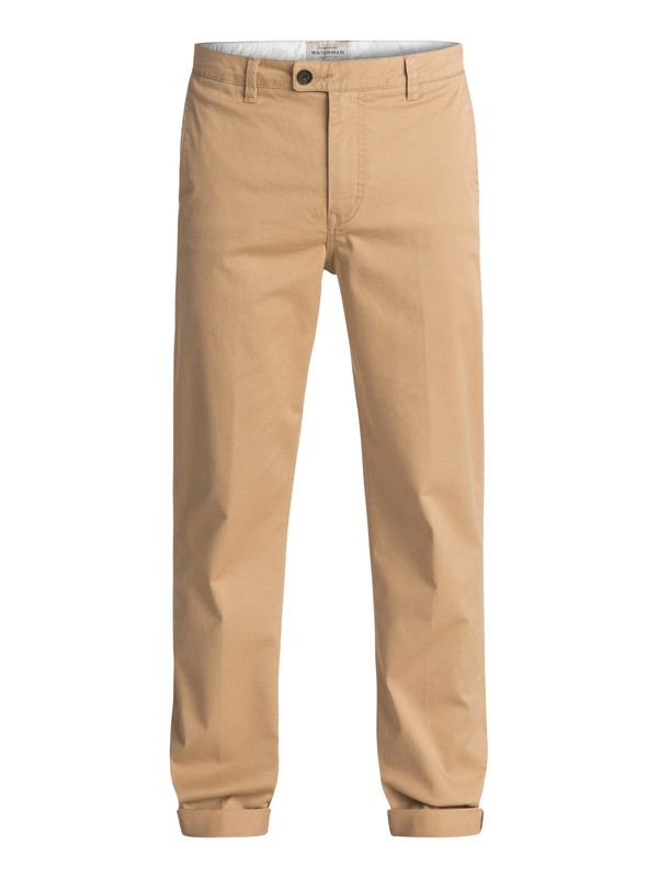 0 Waterman Surf - Pantalon chino Marron EQMNP03004 Quiksilver