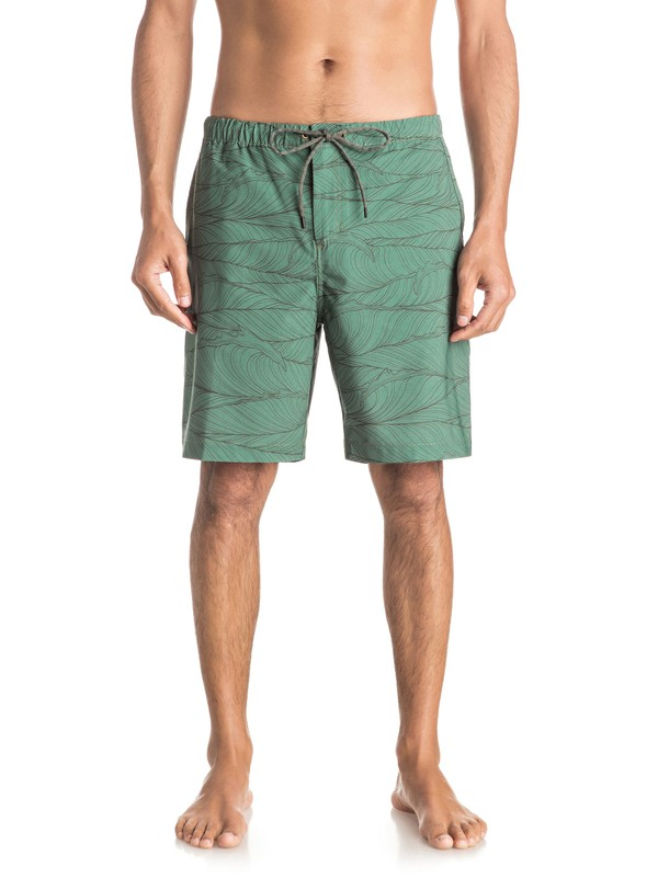 0 Waterman Seaside Reef Cargo Shorts  EQMWS03003 Quiksilver