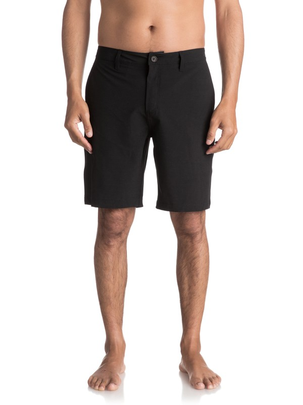 "0 Waterman Striker 20"" Amphibian Shorts Black EQMWS03009 Quiksilver"