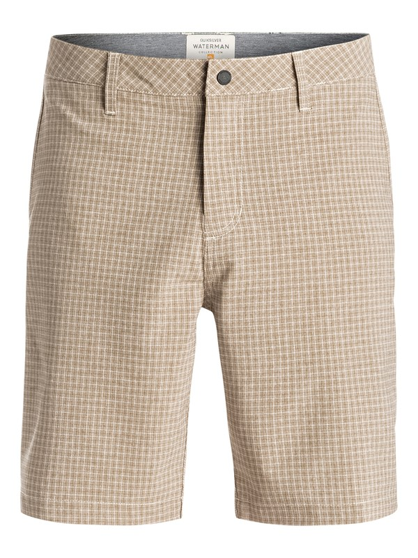"0 Waterman Vagabond 20"" Amphibian Shorts White EQMWS03012 Quiksilver"