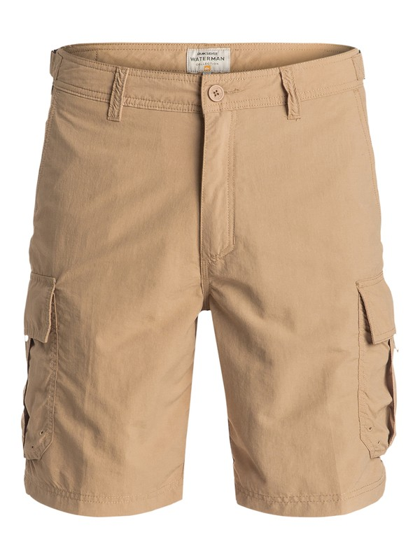 0 Waterman Skipper - Short Marron EQMWS03016 Quiksilver