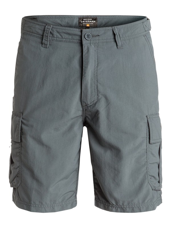 0 Waterman Skipper - Short Noir EQMWS03016 Quiksilver