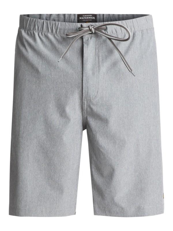 "0 Waterman Suva Amphibian 20"" Shorts Grey EQMWS03034 Quiksilver"