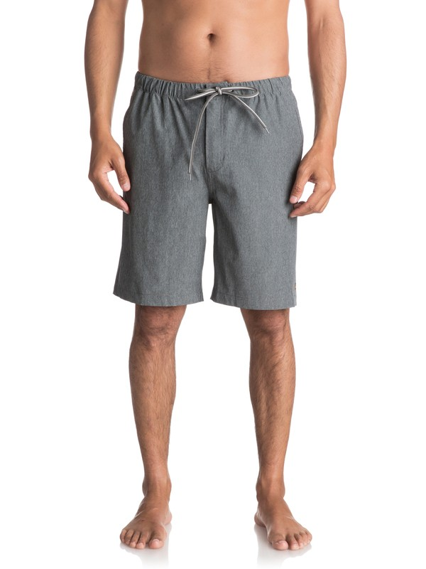 "0 Waterman Suva Amphibian 20"" Shorts Black EQMWS03034 Quiksilver"