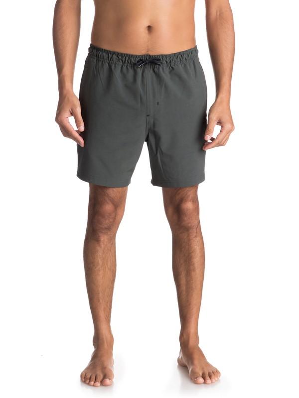 "0 Waterman Tech 17"" Technical Shorts Black EQMWS03038 Quiksilver"