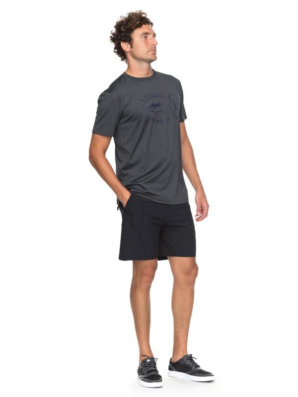 "0 Waterman Venture 19"" Amphibian Shorts Black EQMWS03049 Quiksilver"