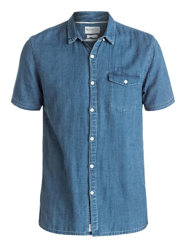 0 Waterman Riveez - Chemise à manches courtes Bleu EQMWT03005 Quiksilver