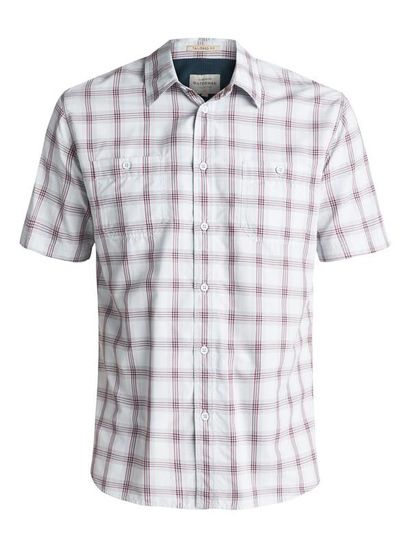 0 Waterman Wake Short Sleeve Shirt Purple EQMWT03007 Quiksilver