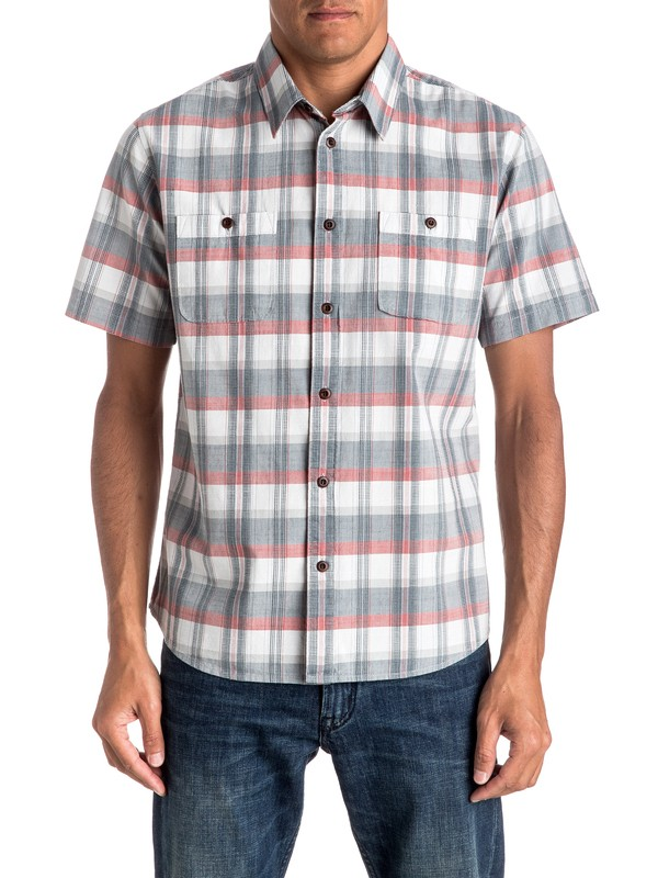 0 Waterman Ample Time Short Sleeve Shirt  EQMWT03025 Quiksilver