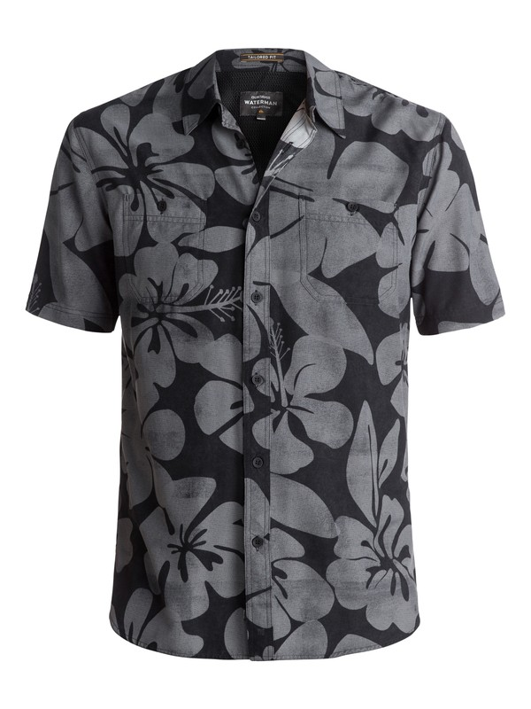 0 Waterman Wake Idyll Short Sleeve Shirt  EQMWT03044 Quiksilver