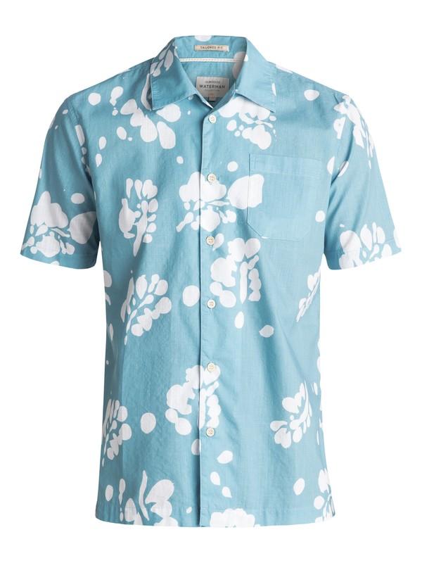 0 Waterman Los Palmas Short Sleeve Shirt  EQMWT03047 Quiksilver