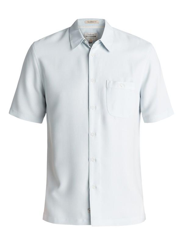 0 Waterman Avalon Short Sleeve Shirt Blue EQMWT03051 Quiksilver