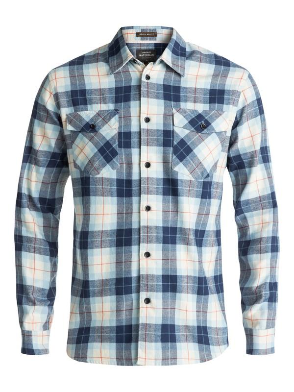 0 Waterman Wade Creek Long Sleeve Shirt Brown EQMWT03145 Quiksilver