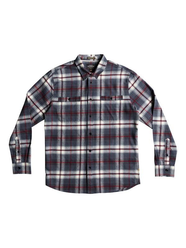 0 Waterman Raleigh Long Sleeve Shirt Black EQMWT03146 Quiksilver