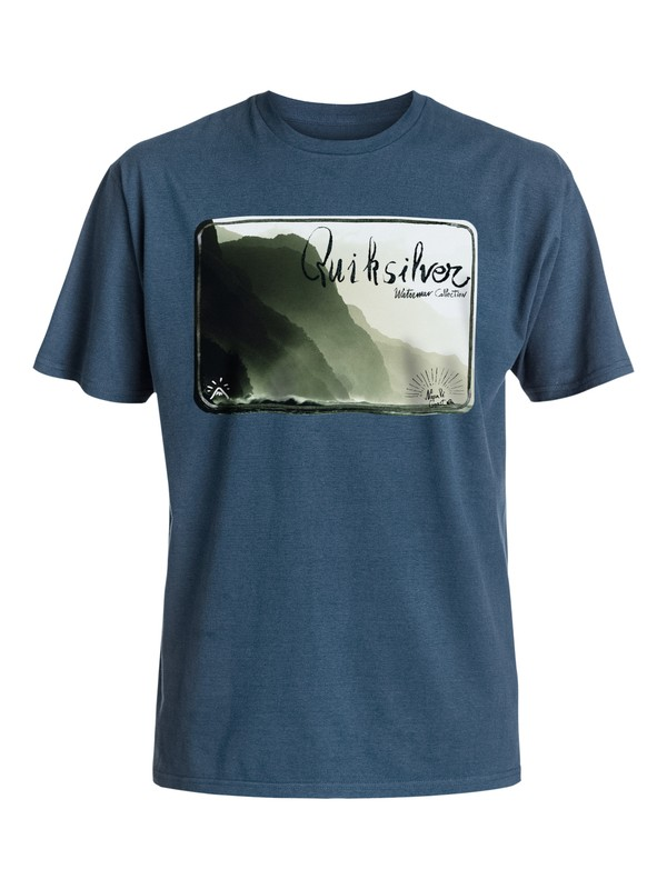 0 Napali Coast - Tee-Shirt Bleu EQMZT03014 Quiksilver