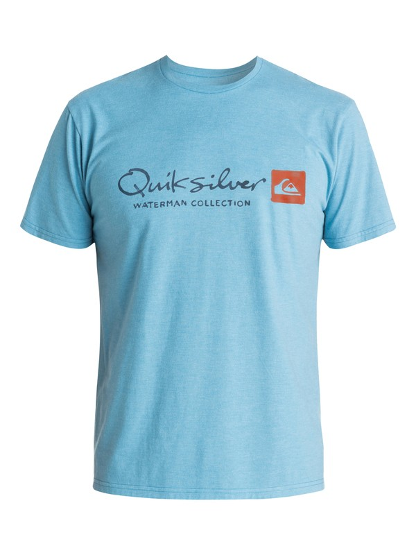 0 Waterman Originel - Tee-Shirt Bleu EQMZT03016 Quiksilver