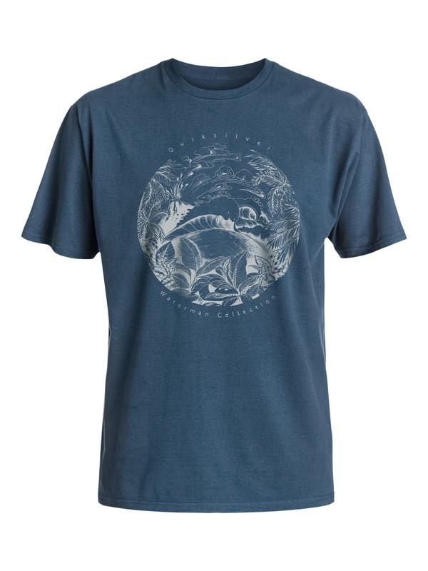 0 Waterman Tenerif - Tee-Shirt Bleu EQMZT03018 Quiksilver