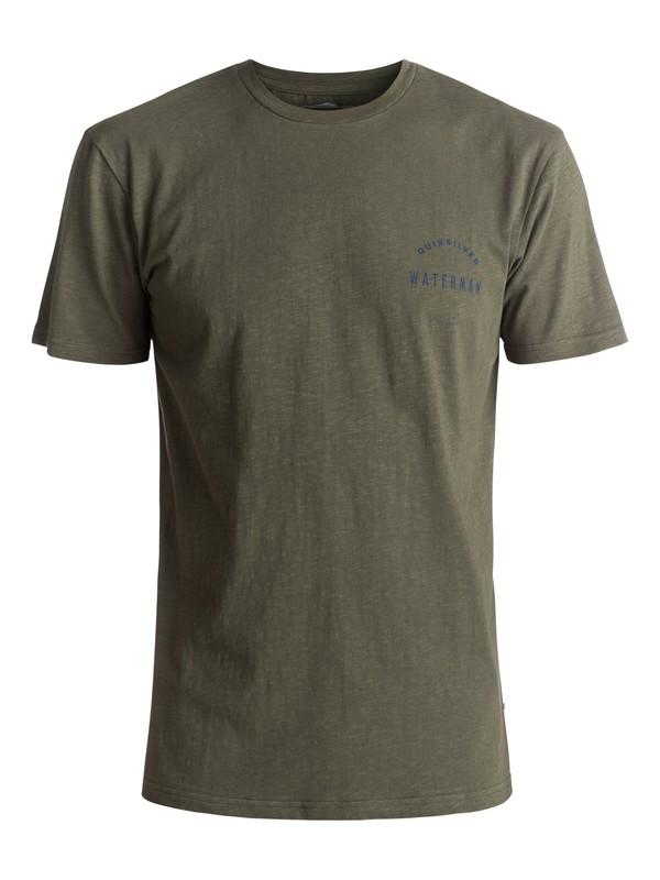 0 Waterman Water Defined - T-Shirt Green EQMZT03024 Quiksilver